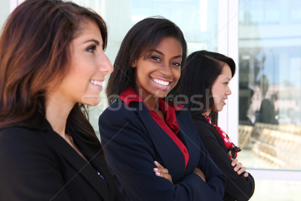 Diverse Woman Business Team Stock photo © nruboc