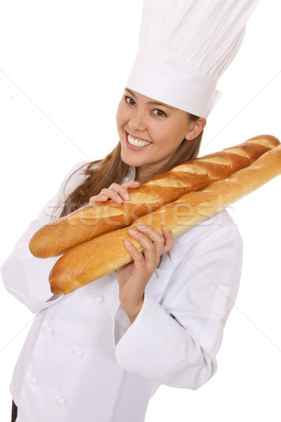 Pretty Woman Chef Stock photo © nruboc