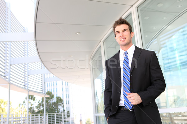 Business Man at Office Stock photo © nruboc