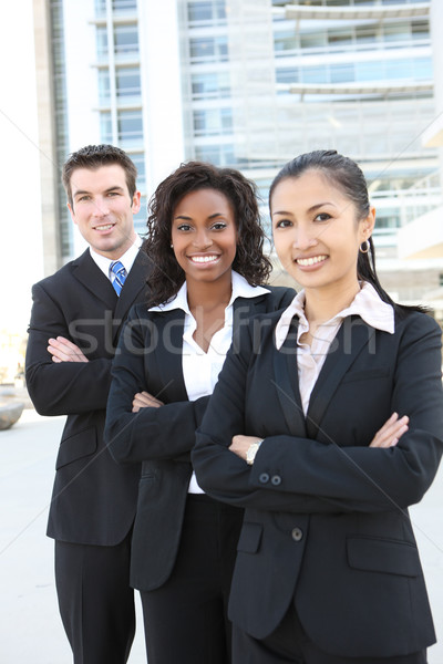 бизнес-команды Focus средний женщину привлекательный Сток-фото © nruboc