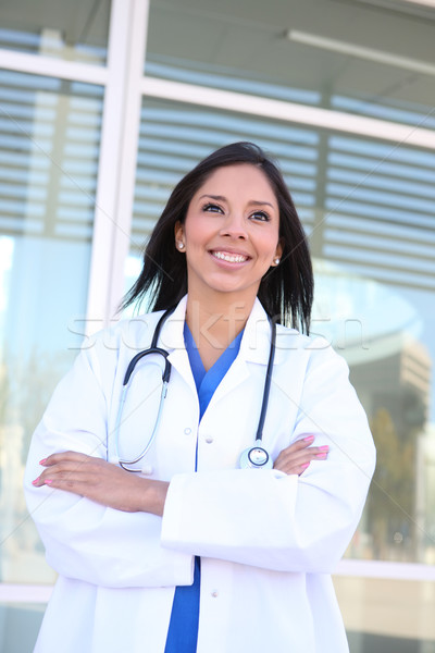 Woman Nurse at Hospital Stock photo © nruboc