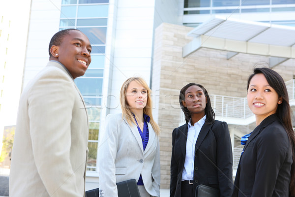 Diverse Ethnic Business Team Stock photo © nruboc