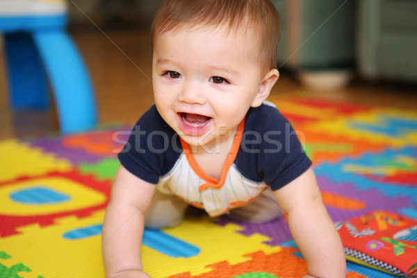 A cute baby playing  Stock photo © nruboc