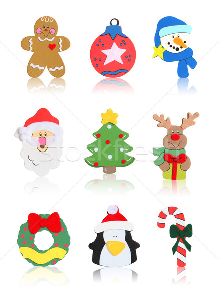 Isolated Christmas Icons  Stock photo © nruboc