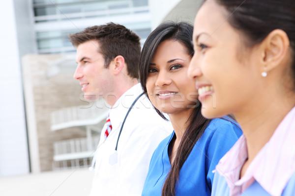 Man and Woman Medical Team Stock photo © nruboc