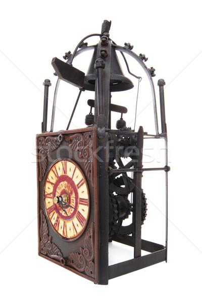 Old Vintage Antique Clock Stock photo © nruboc