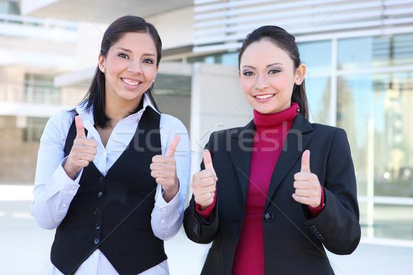 красивая женщина бизнес-команды довольно молодые деловой женщины Сток-фото © nruboc