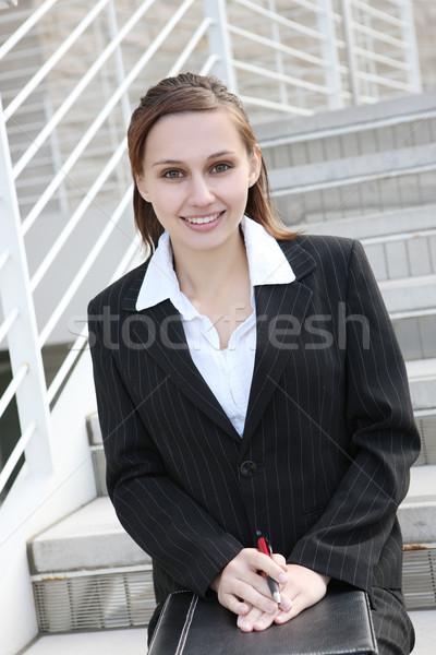 Cute Business Woman Stock photo © nruboc
