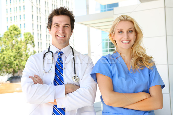 doctor and nurse at hospital stock photo 169 stephen coburn