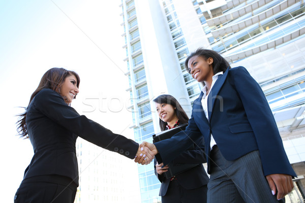 Diverse Business Woman Team Stock photo © nruboc