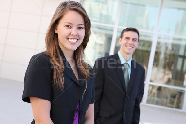 魅力的な 男 女性 ビジネスチーム オフィス ビジネス ストックフォト © nruboc