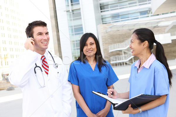 врач больницу успешный человека женщину Сток-фото © nruboc