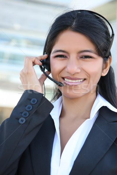 インド 顧客サービス 女性 かなり ビジネス女性 オフィスビル ストックフォト © nruboc
