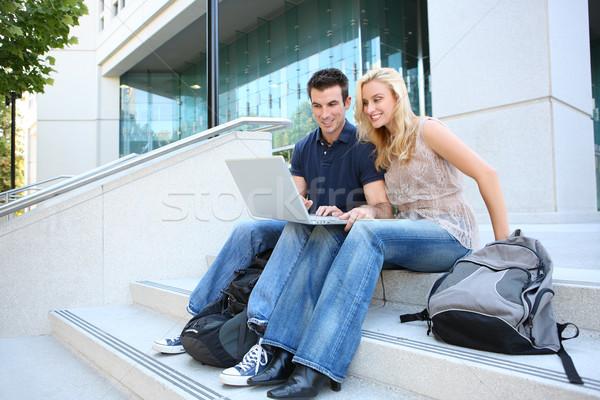 студентов колледжей человека женщину студент школы Сток-фото © nruboc