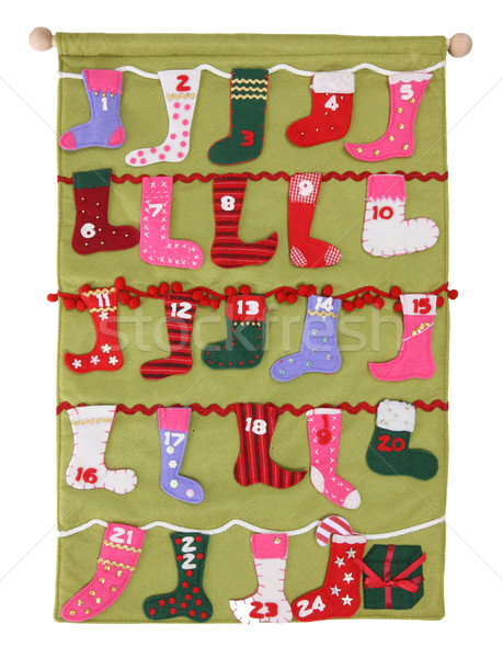 Colorful Christmas Stockings Stock photo © nruboc