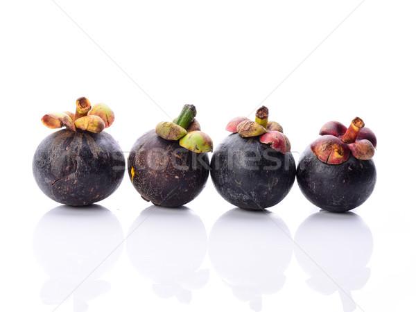 Мангостин продовольствие природы фрукты ресторан еды Сток-фото © nuiiko
