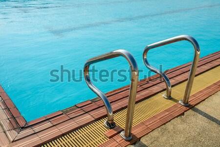 風景 プール 青空 太陽 反射 水 ストックフォト © nuiiko