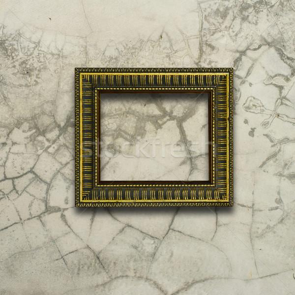 フレーム 具体的な 壁 ストックフォト © nuiiko
