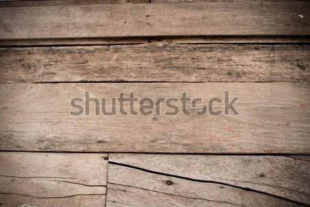 Abstract houten muur vloer kleur donkere Stockfoto © nuiiko