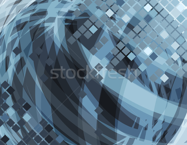 Abstract grey background Stock photo © nurrka