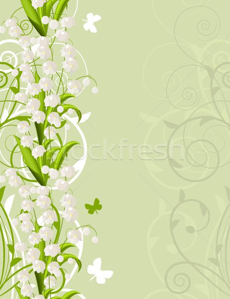 Сток-фото: свет · долины · вертикальный · розовый · весны