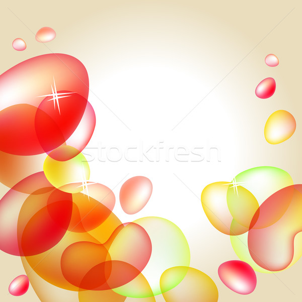 Abstract bright orange background Stock photo © nurrka