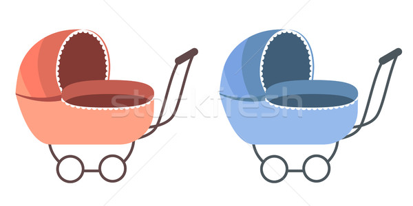 Baby Carriage Stock photo © nurrka