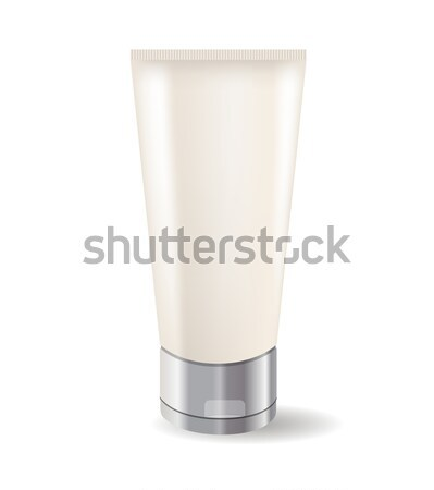 Cream tube isolated Stock photo © nurrka