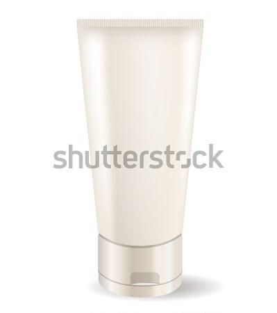 Room buis realistisch geïsoleerd witte vrouw Stockfoto © nurrka