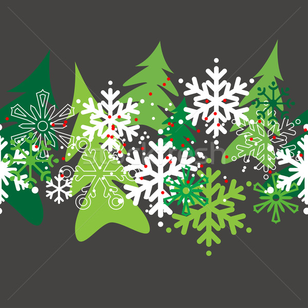 Seamless christmas pattern Stock photo © nurrka