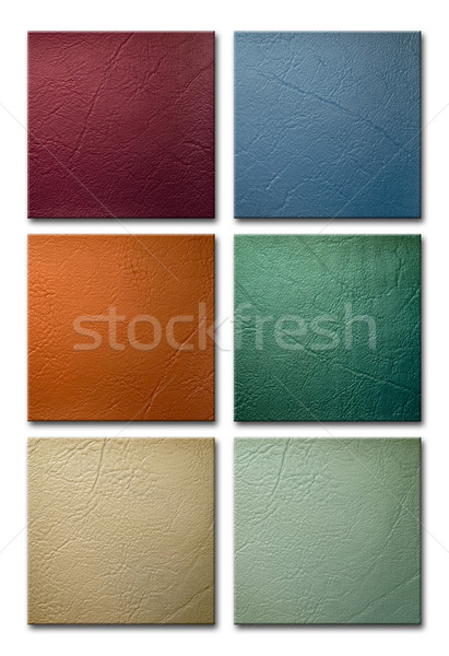 Green Leatherette Background Stock photo © nuttakit