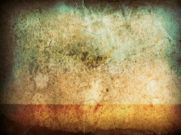 Vieux grunge papier horizontal texture mur Photo stock © nuttakit