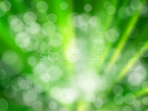 Radius Green Aura Stock photo © nuttakit