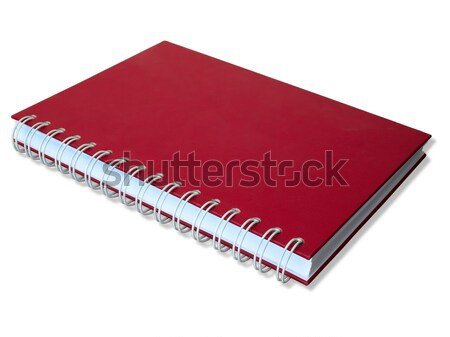 Red cover Notebook Stock photo © nuttakit