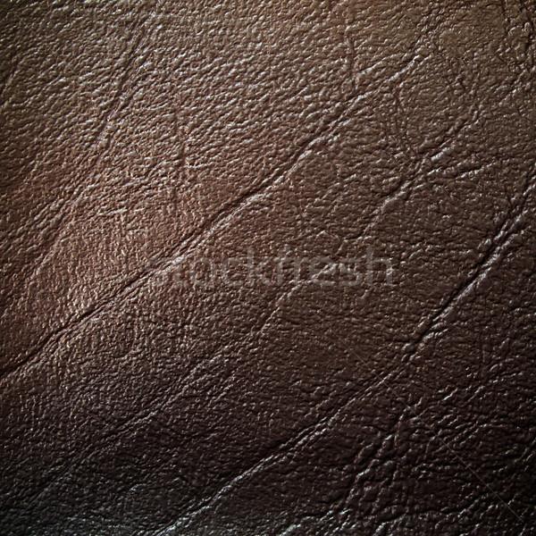 dark brown Leatherette Background Stock photo © nuttakit