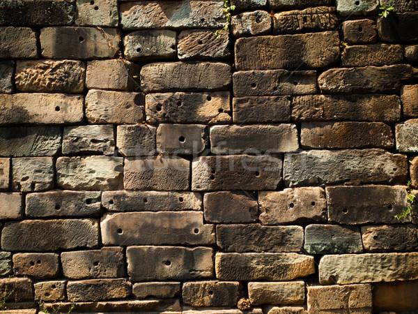 Texture of Stone wall 001 Stock photo © nuttakit