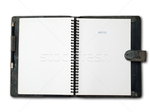 back leather cover binder Stock photo © nuttakit