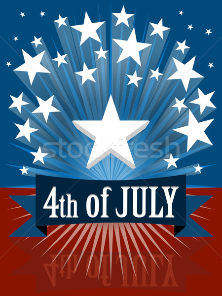 The fourth of july Stock photo © nuttakit