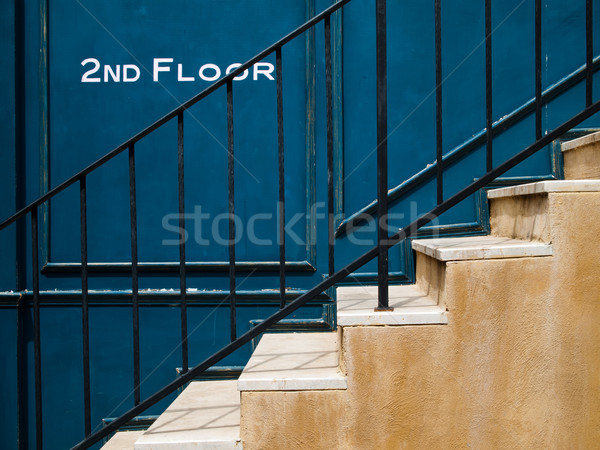 stair up to second floor Stock photo © nuttakit