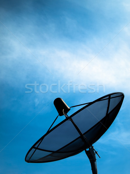 Black Satellite Stock photo © nuttakit