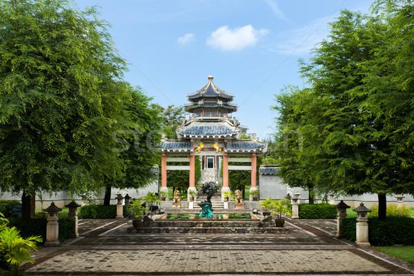 Stok fotoğraf: Çin · stil · giriş · parlak · gökyüzü
