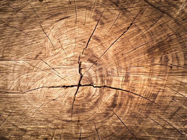 Textuur gesneden houtstructuur oude bruin hout Stockfoto © nuttakit