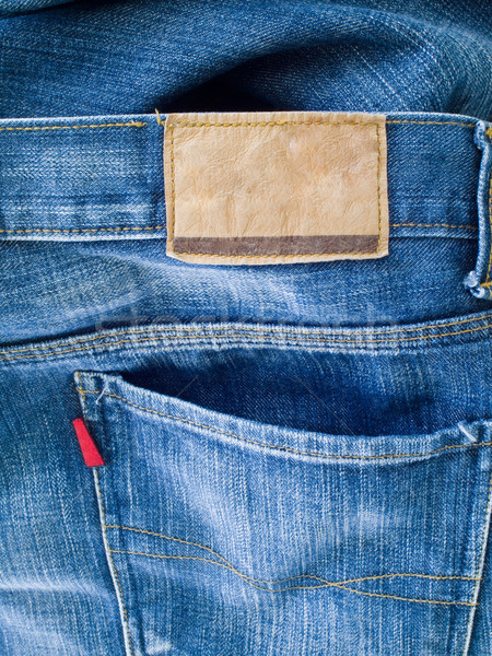 Back of blue jeans Stock photo © nuttakit