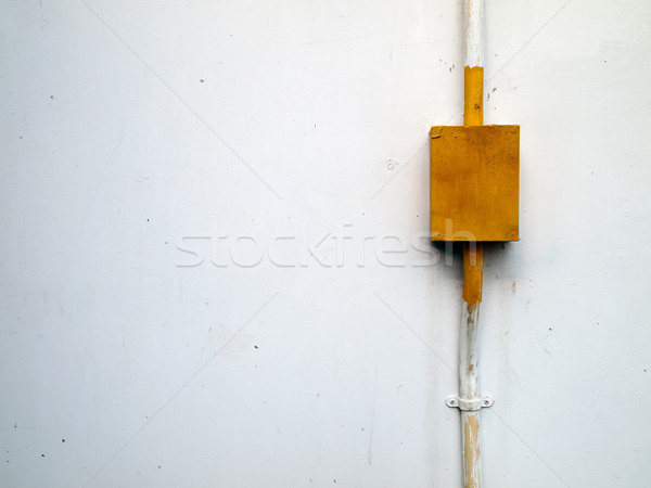 Yellow steel box for electrical work Stock photo © nuttakit