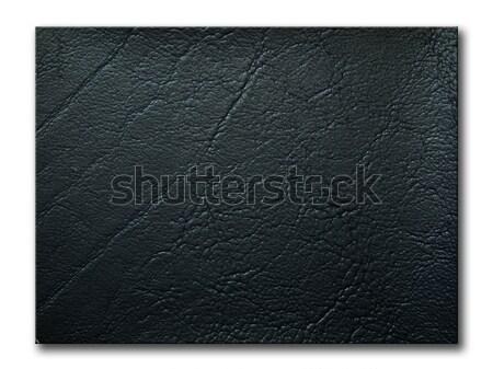 texture of black leatherette sample Stock photo © nuttakit