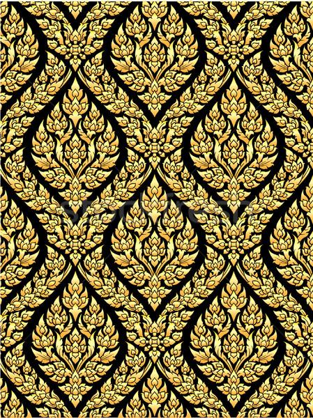 Thai gold art Stock photo © nuttakit