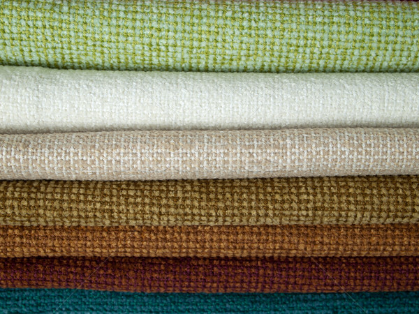 Examples of colored cotton Stock photo © nuttakit