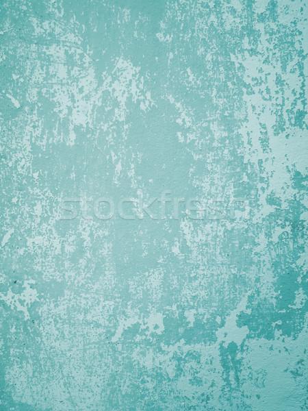 薄緑 古い 壁 ひびの入った ウェブ 垂直 ストックフォト © nuttakit