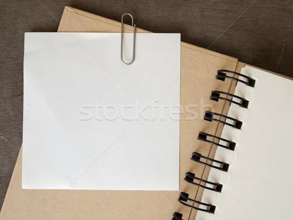 White note paper Stock photo © nuttakit