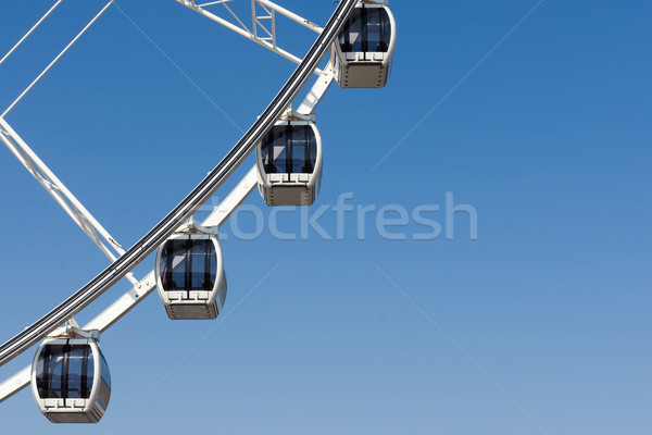 Part of Four White Ferris wheel Stock photo © nuttakit